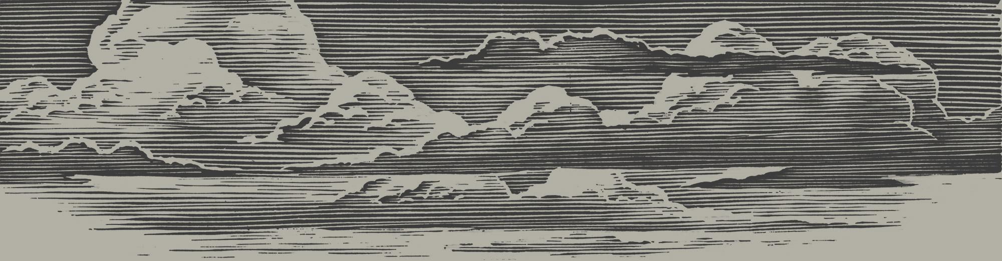 woodcut-sky