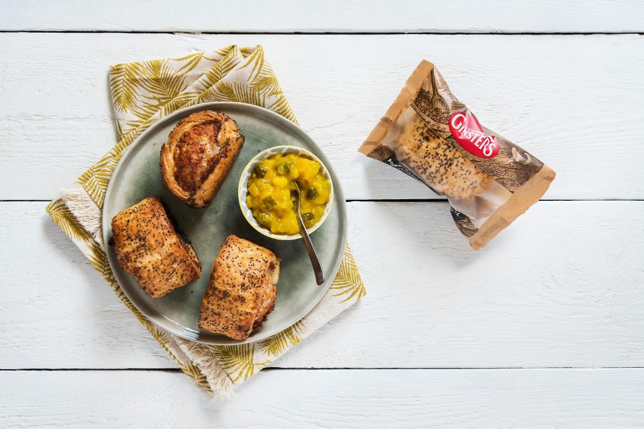 Pork, Bacon & Cornish Cheddar Roll