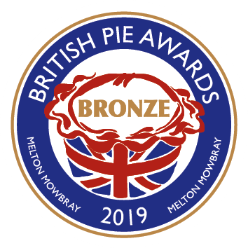Ginsters British pie awards bronze