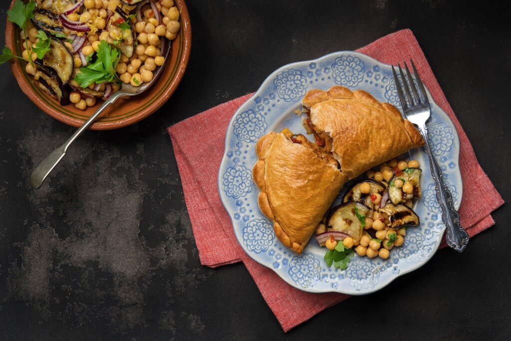Moroccan Vegetable Pasty