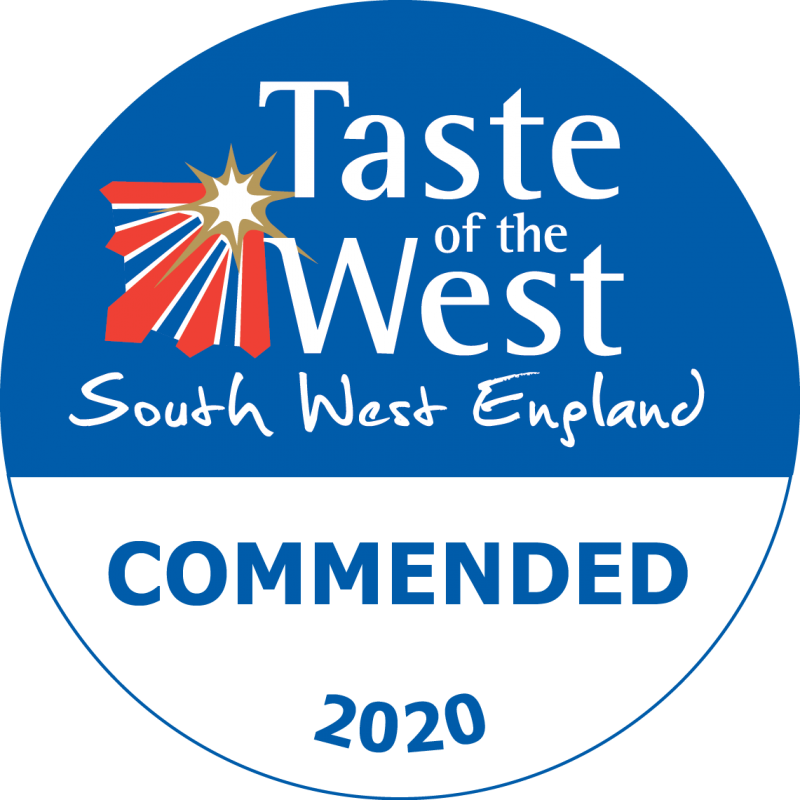Ginsters Commended Taste of The West Awards 2020