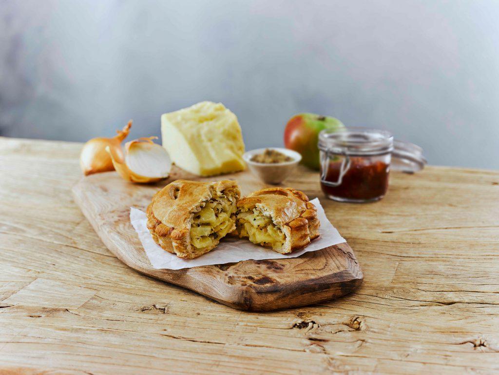 cheddar & onion pasty